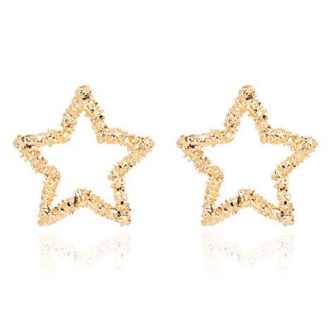 fashion  alloy five-pointed star  all-match simple earrings wholesale  NHCT244591's discount tags