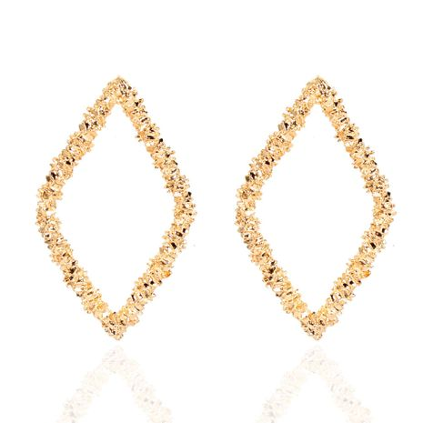 alloy plating diamond  Korean style sweet and small earrings wholesale nihaojewelry NHCT244594's discount tags
