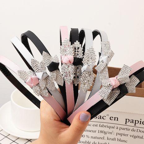 Bandas para el cabello para niños horquilla para padres e hijos accesorios para el cabello para niñas princesa estudiante tocado salvaje simple NHNU244672's discount tags