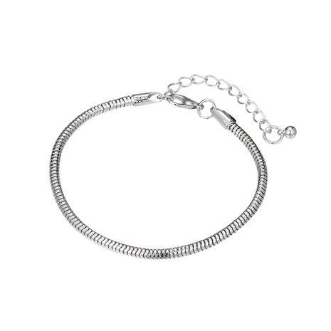 Fashion new simple metal chain open bracelet for women wholesale NHOA244710's discount tags