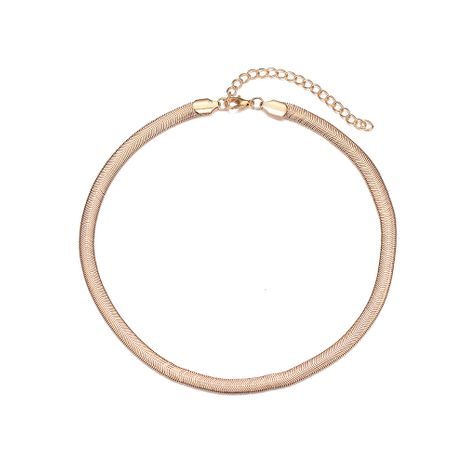 Hot-selling fashion simple metal alloy  short necklace for women NHOA244711's discount tags