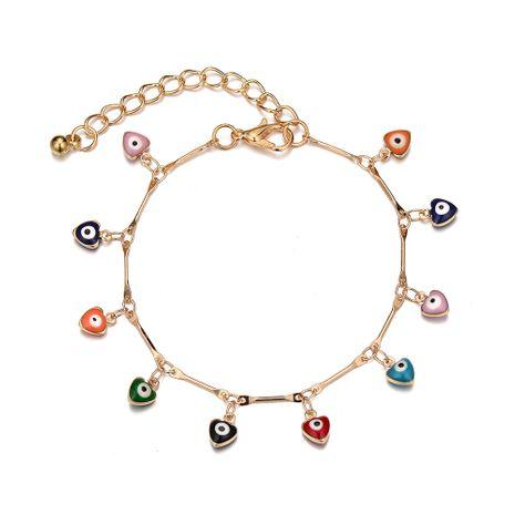 Forme la nueva pulsera de la aleación de bambú del ojo del diablo multi-colgante del ojo colorido para las mujeres NHOA244712's discount tags