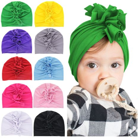 children's   solid color pullover caps wholesale nihaojewelry NHWO244713's discount tags