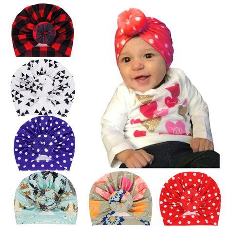 chapeau de tête de boule pour enfants casquette de boule de vague bébé casquette de couverture simple en gros nihaojewelry NHWO244716's discount tags