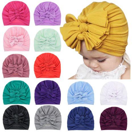 chapeau de pull pour enfants bébé nœud papillon noué casquette de pneu en gros nihaojewelry NHWO244720's discount tags