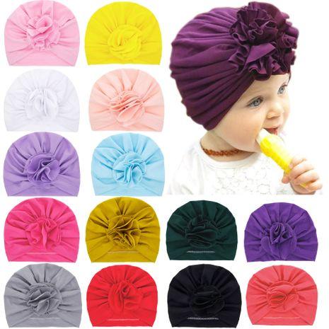 children's handmade flower hats petals fetal caps hedging caps wholesale NHWO244721's discount tags
