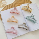 Koreas new shark hair clip small incense hollow large hair catching clip headdress wholesale nihaojewelry NHSM244360