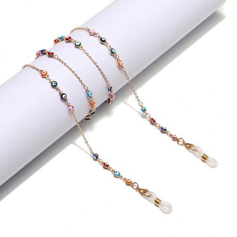 moda goteando aceite ojos hechos a mano gafas cadena al por mayor nihaojewelry NHBC244798's discount tags