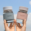Glass student trend Korean fresh simple cute antiscalding womens cup  NHtn244823