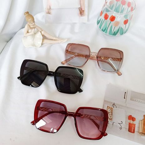 new retro fashion big frame trend box sunglasses wholesale NHBA244834's discount tags