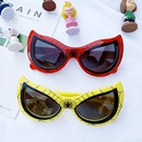 Spiderman tendance dessin anim garon silicone lunettes dcoratives mode lunettes de soleil en gros nihaojewelry NHBA244863