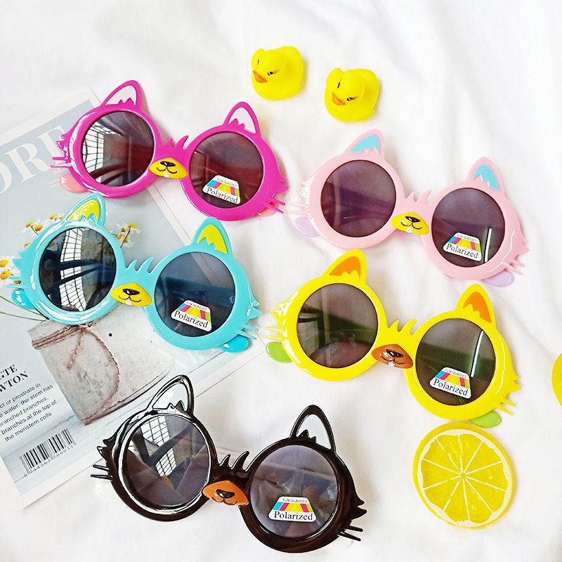 new childrens glasses polarized soft silicone cartoon antiultraviolet cute sunglass wholesale nihaojewelry NHBA244867