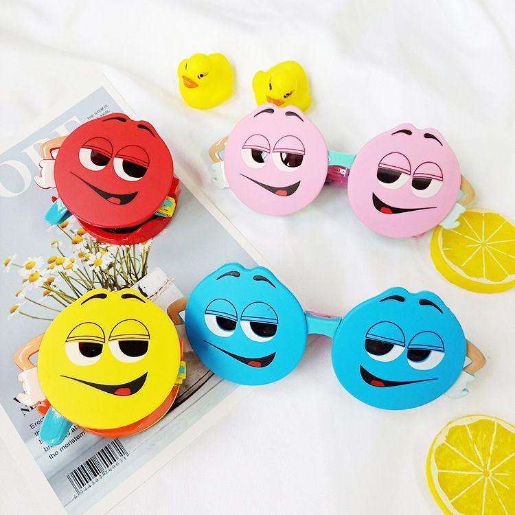 New childrens sunglasses chocolate bean polarized cartoon sunglasses wholesale nihaojewelry NHBA244868