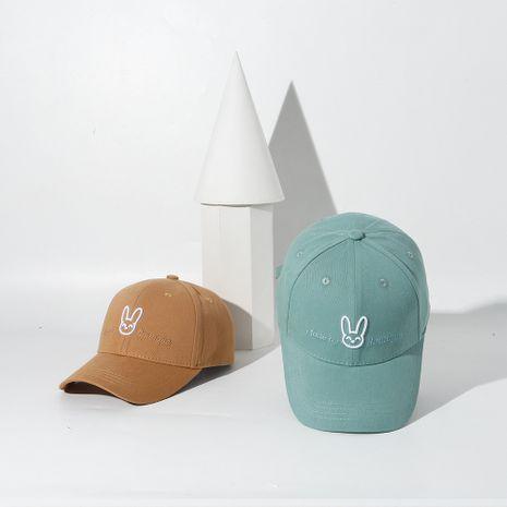Moda lindo conejo verano sombrero protector solar gorra de béisbol al por mayor NHTQ244990's discount tags