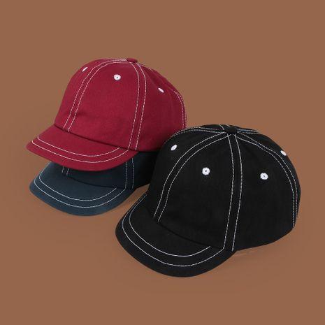 Tendencia coreana de la gorra de béisbol de verano de ala corta salvaje de moda de ala corta de línea brillante NHTQ245013's discount tags