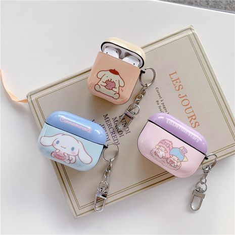 Cute cartoon pudding dog protective cover for Apple Airpods Pro wireless Bluetooth headset Airpods2 NHFI245022's discount tags