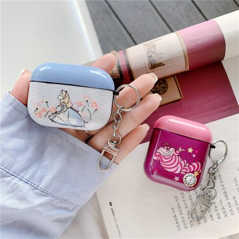 Cute cartoon princess protective sleeve AirpodsPro wireless Bluetooth headset wholesale nihaojewelry NHFI245026's discount tags