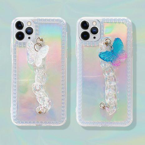 Pulsera de mariposa Apple 11Pro Max wave dot laser phone case para 8plus funda protectora se2 XR soft shell NHFI245039's discount tags
