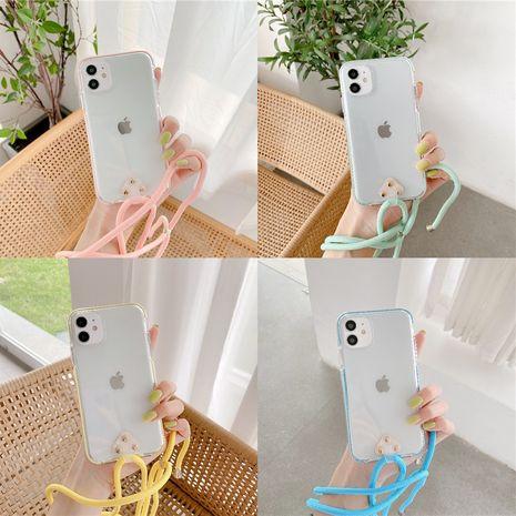 caja del teléfono del cordón anti-caída para el iphone 11promax / 7plus nihaojewelry al por mayor con todo incluido NHFI245053's discount tags
