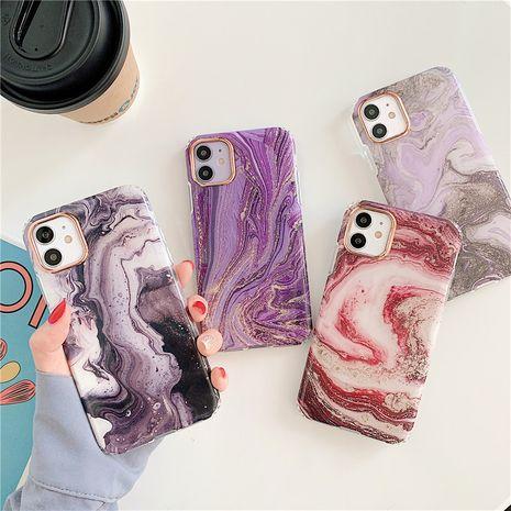 Estuche para teléfono móvil de cáscara blanda de mármol de estilo nórdico para iphone8plus / XR todo incluido al por mayor nihaojewelry NHFI245055's discount tags