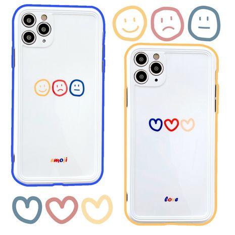 Simple love smiley face Apple 11 ProMax funda para teléfono con cámara todo incluido para 8plus /se2/XR NHFI245068's discount tags