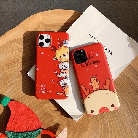 Christmas Elk Gingerbread Man iphone8plus funda para teléfono móvil para Apple xsmax / Huawei p20pro soft shell NHFI245081's discount tags