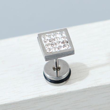 Pendientes de diamantes de imitación unilaterales de moda creativa coreana de todo fósforo NHPS245442's discount tags