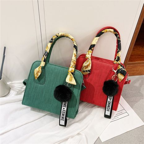 new Korean silk scarf small bag simple fashion shoulder diagonal bag wholesale nihaojewelry NHXC245208's discount tags