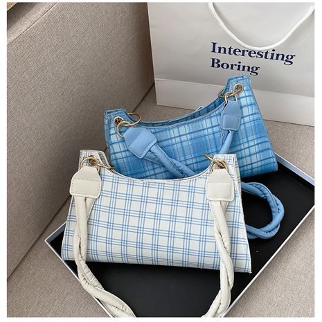 new plaid handbags fashion texture bags wholesale nihaojewelry NHXC245215's discount tags
