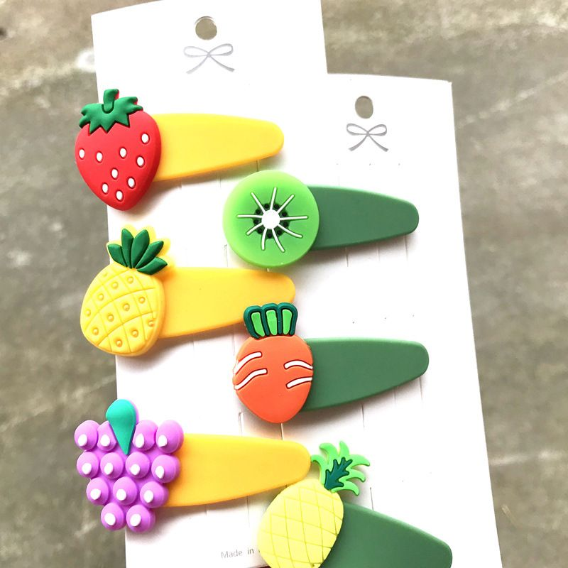 korean Children's hairpins side bangs small clip  wholesale nihaojewelry NHDI245502