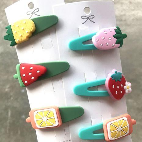 Korean cute cartoon broken hair bb clip headdress wholesale nihaojewelry NHDI245504's discount tags