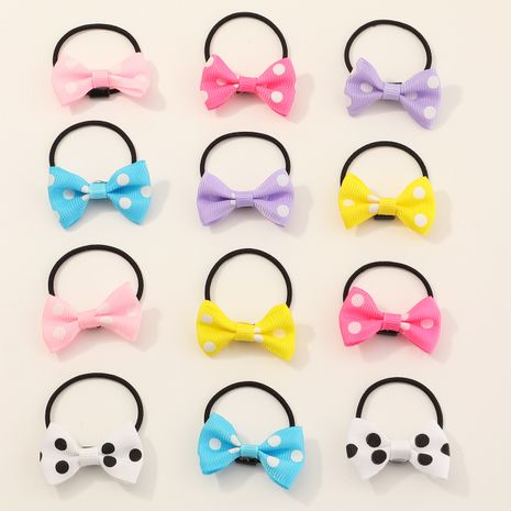 New fashion cute  bow tie hair rope set  NHNU245553's discount tags