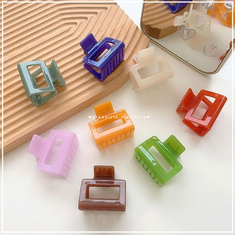 Plastic grabbing clip fashion all-match plate hair clip ponytail hairpin wholesale nihaojewelry NHOF245556's discount tags