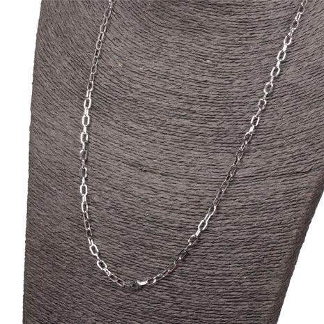 Nouvelle liste mode hommes et femmes style hip-hop long collier de chaîne de corde épaisse simple NHPY245593's discount tags