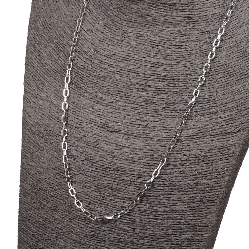 New listing fashion men and women hip-hop style long simple thick rope chain necklace NHPY245593