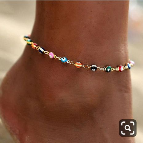 Fashion new devil's eye summer beach accessories anklet  NHCT245662's discount tags