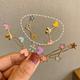 simple star hairpin back head side clip word bangs clip headdress wholesale nihaojewelry NHNA245682