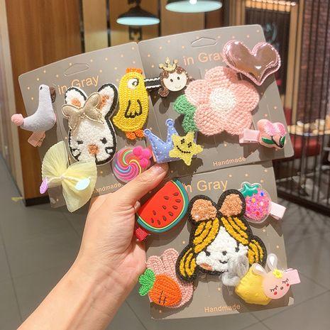 Korea cute  plush  bb clip  set  NHSA245685's discount tags