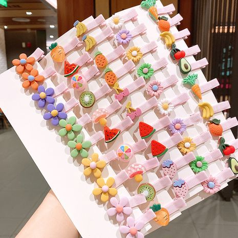 Korean children's  cute hairpin set  NHSA245687's discount tags