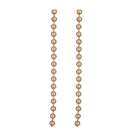 vente chaude boucles d'oreilles nouvelles perles rondes géométriques exagérées longues boucles d'oreilles en gros nihaojewelry NHOA245692's discount tags