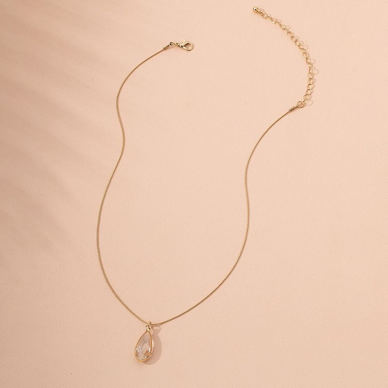 Korean new fairy jewelry drop alloy necklace for women wholesale  NHAI245773