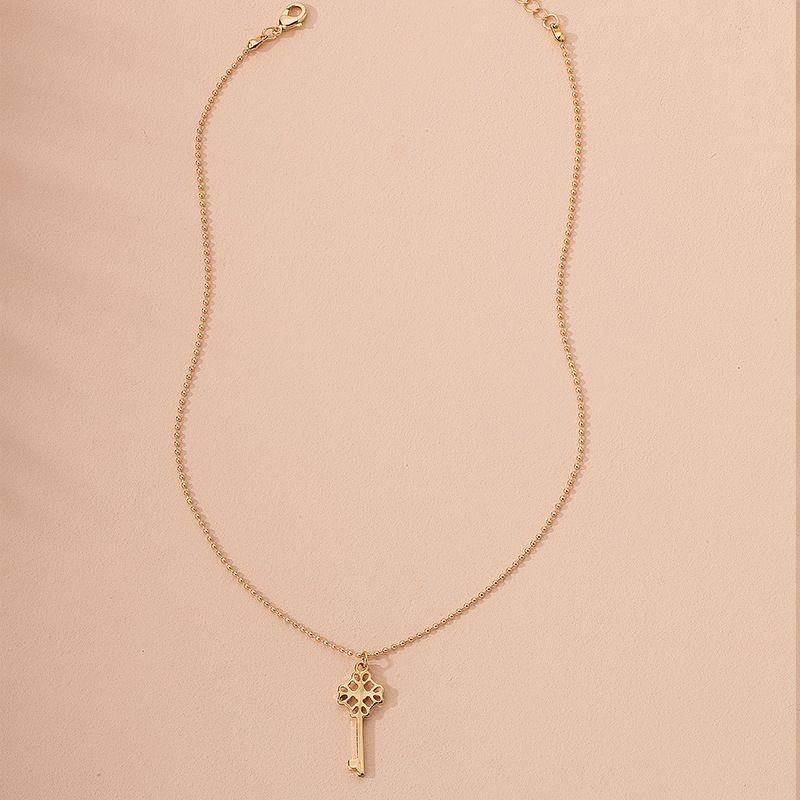 Fashion cross womens simple new tide alloy pendant necklace  wholesale  NHAI245777