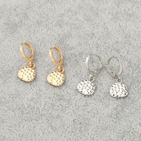 nouvelle mode simple triangle irrégulier cerceau pendentif géométrique petite boucle d'oreille en gros nihaojewelry NHGO245907's discount tags