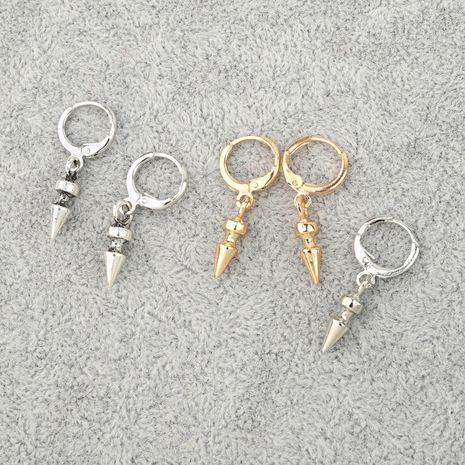 punk hoop petit triangle géométrique cône boucle d'oreille boucle d'oreille en gros nihaojewelry NHGO245908's discount tags