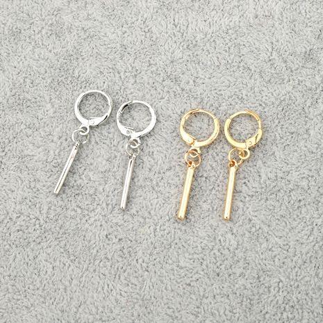 Boucle d'oreille géométrique tendance coréenne minimalisme boucle d'oreille en gros nihaojewelry NHGO245910's discount tags