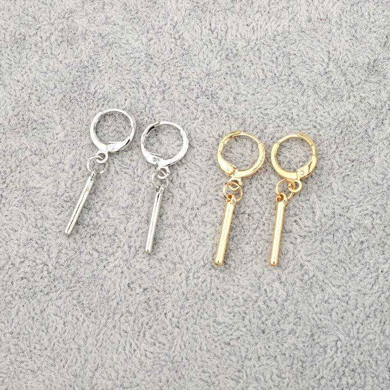 Korean trend minimalism geometric earring ear buckle wholesale nihaojewelry NHGO245910