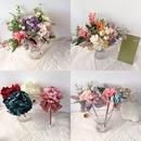 Korean retro polka dot net yarn bow eternal flower series gift flower pen wholesale nihaojewelry NHHI245923