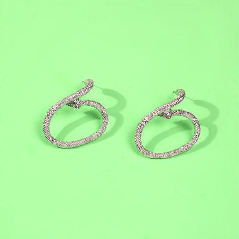 Fashion exaggerated snake-shaped hot selling earrings wholesale NHMD245992's discount tags