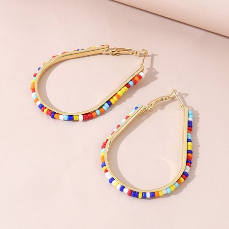 fashion simple creative rice bead earrings for women wholesale NHPS245976's discount tags