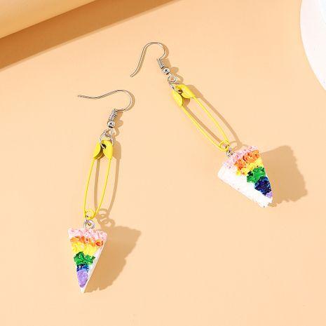 Korean  simple  fashion small cake earrings NHPS245981's discount tags
